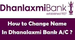 How to Change Name in Dhanalaxmi Bank Account