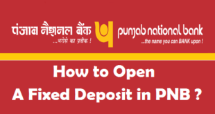 How to Open a Fixed Deposit in PNB