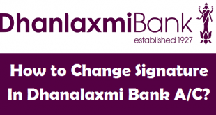 How to Change Signature in Dhanalaxmi Bank Account
