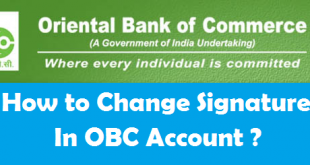 How to Change your Signature in Oriental Bank of Commerce Account